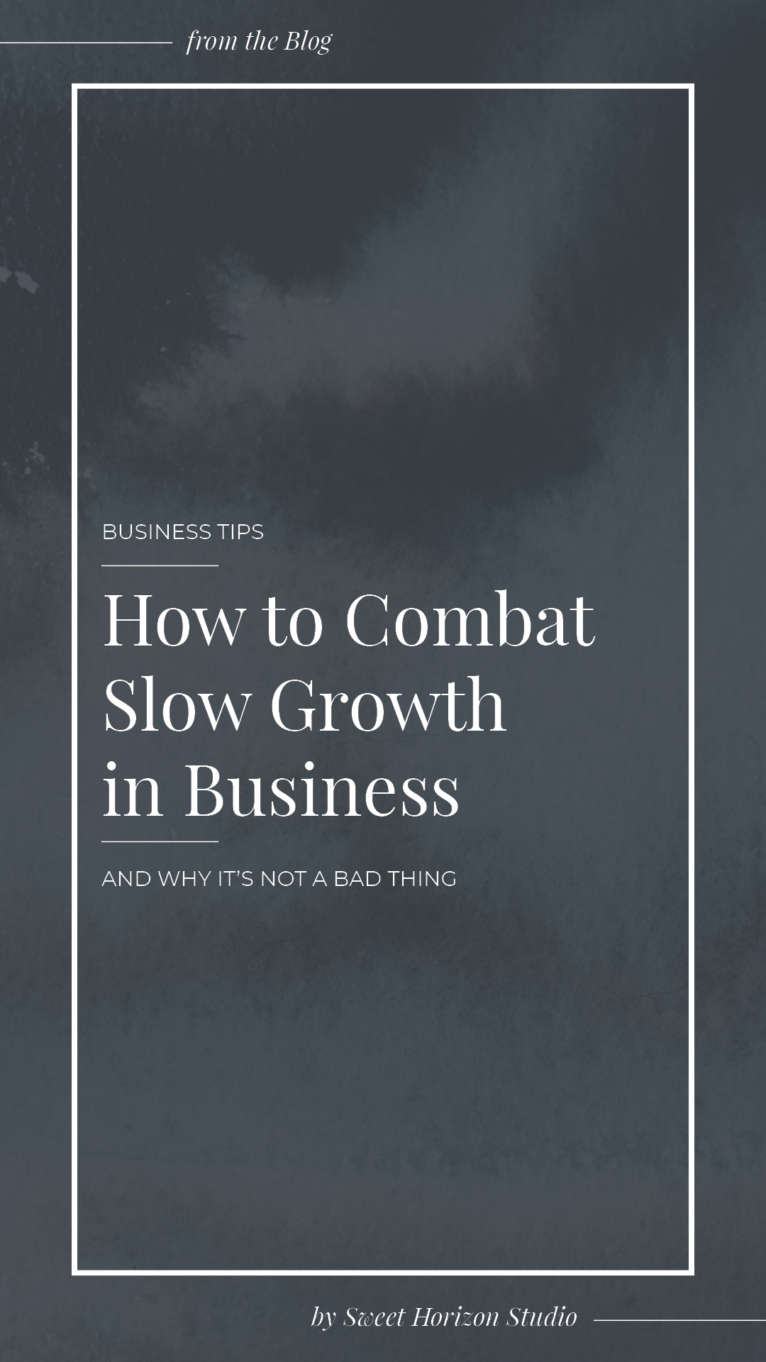 How to Combat Slow Growth in Business from www.sweethorizonblog.com