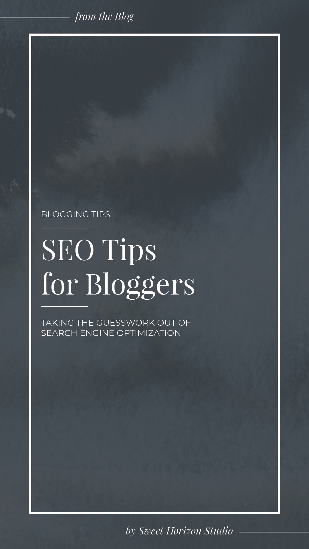 SEO Tips for Bloggers from www.sweethorizonblog.com